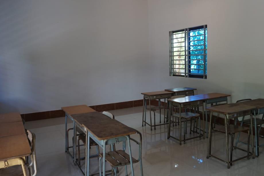 孤児院・校舎整備写真2